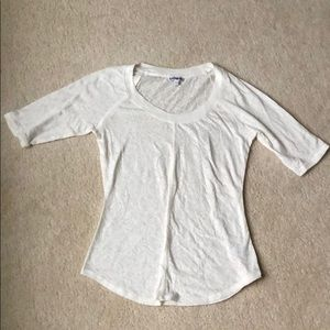 Express White Short Sleeve
